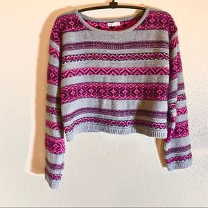 Forever 21 Girls (11-12) L Cropped Sweater